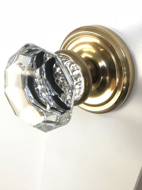 Emtek glass door knob
