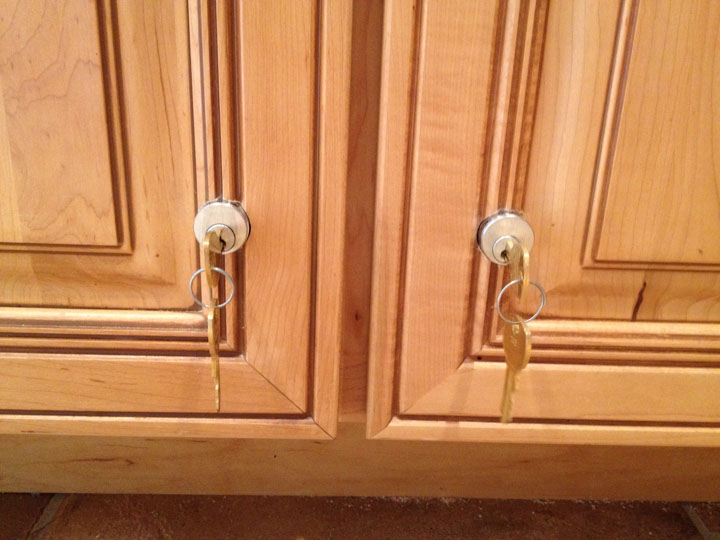 Liquor Cabinet With Lock: Christopher Dayan Security
