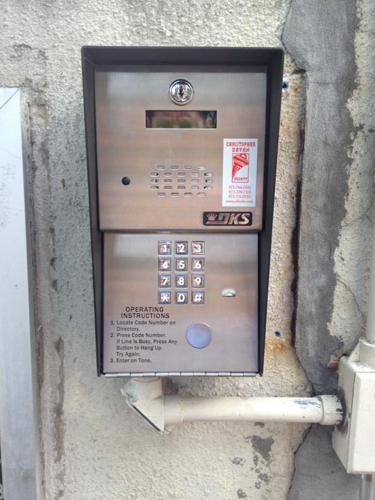 Apartment Building Entry Systems access control/intercom | christopher dayan security