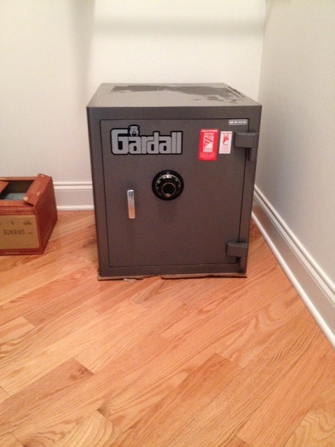 ... Homeowner To Montclair, On Harrison Ave, Initially Needed Some Lock  Work, And The Work Expanded To The Delivery And Installation Of A Gardall  2015 Safe.