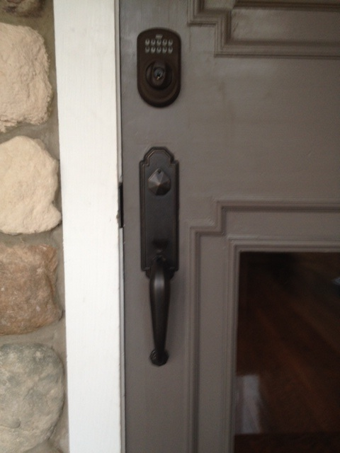 Security Door Keypad And Windows In Montclair Nj Home
